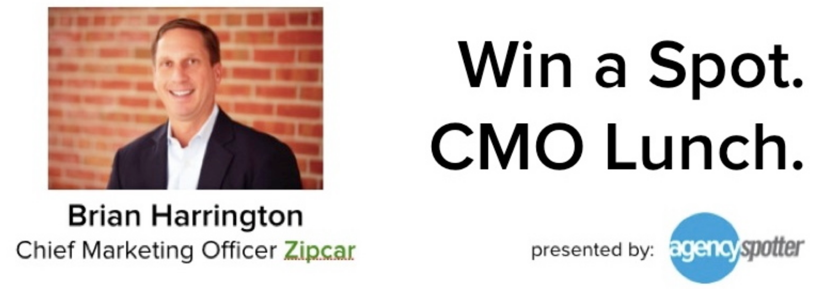 Win Lunch With Boston CMO of Zipcar